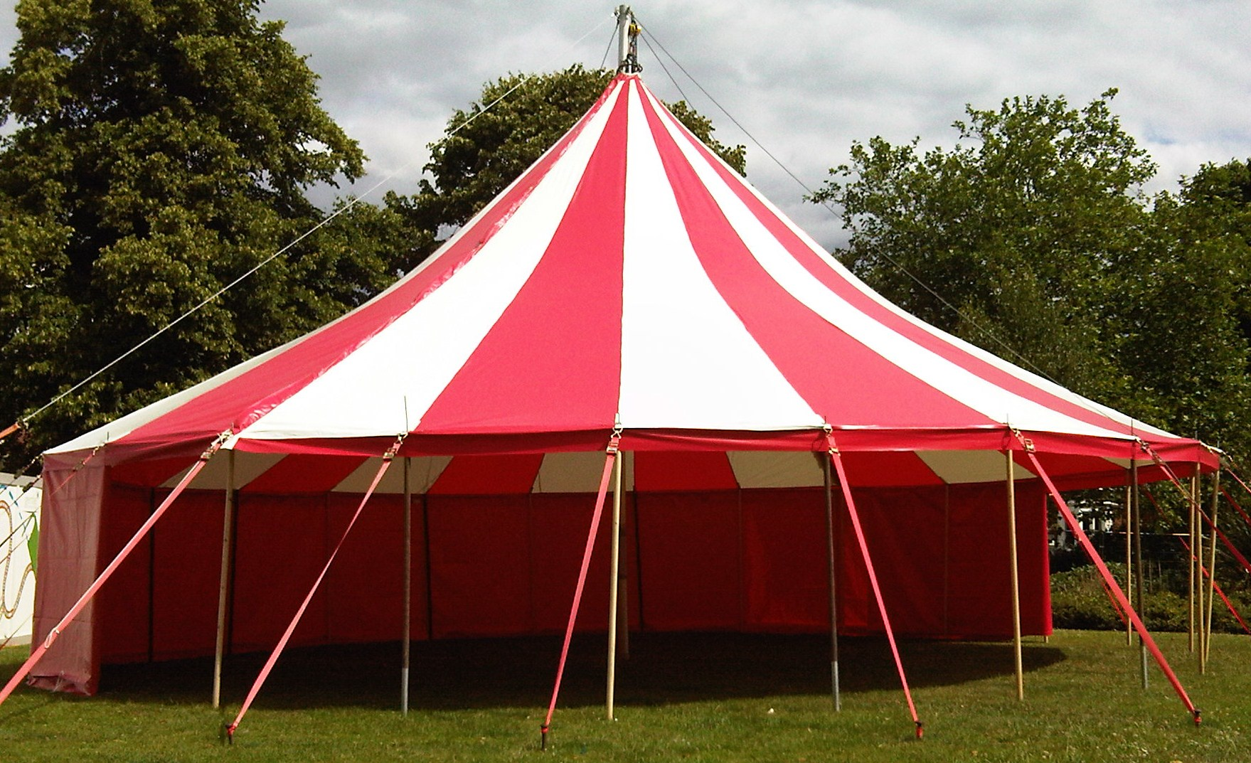 Big top hire, circus shows, marquee hire
